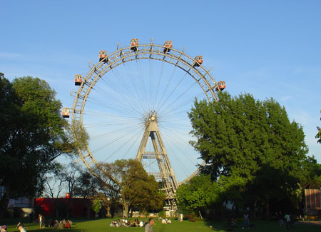 Vienna's Iconic Giant Wheel is never far away from the tournament venues.