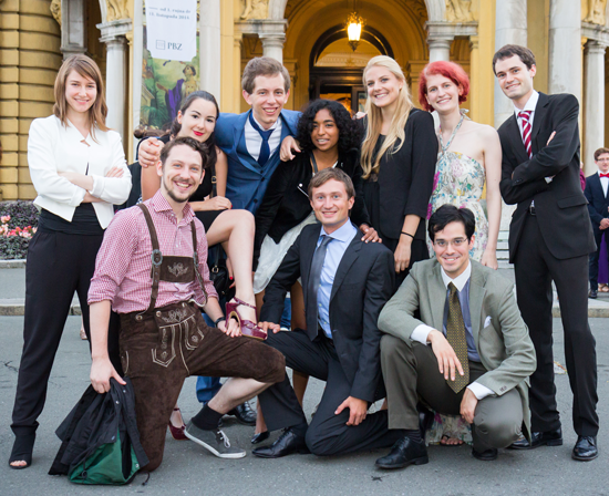 Debattierklub Wien at last year's EUDC in Zagreb